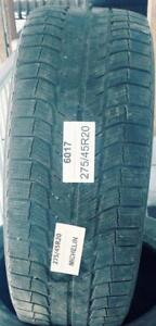 PNEUS HIVER USAGÉS / USED WINTER TIRES 275/45R20 27545R20 MICHELIN LATITUDE