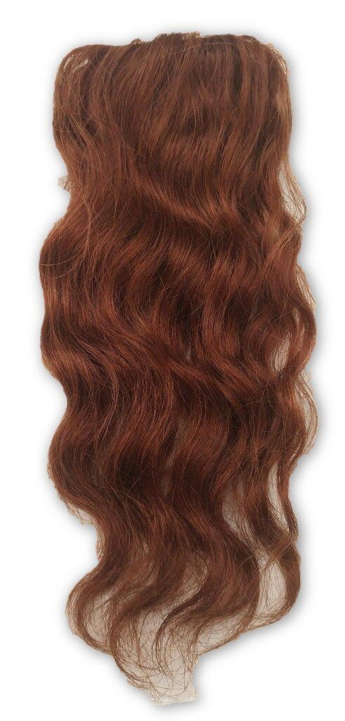 100 Human Hair Undetectable Wavy Clip In Filler Bangs Seamless