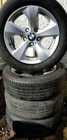 "##CHEAP## 16"" Genuine BMW alloys Renault Trafic Vauxhall Vivaro."