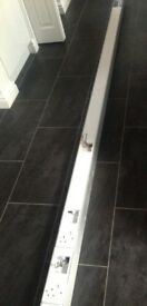 Marco Aluminium And White Power Pole Including Fixtures 3.1 M Commercial use