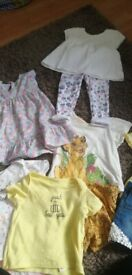 Baby girls clothes 6/9months need gona asap