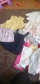 Baby girls clothes 3/6 need gone asap