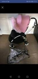 Gorgeous bugaboo bee 3 +extras or choice of hoodless! Exc & immaculate condition! See pics