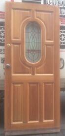 HARD-WOOD EXTERNAL DOOR