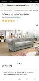 3 seater chesterfield sofa Brand New
