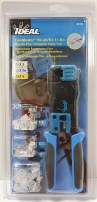 New-ideal 33-700 Telemaster Rj-45rj-11 Kit Modular Plug Termination Crimp Tool
