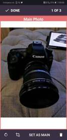 Canon 80d with 10-22 ultra wide