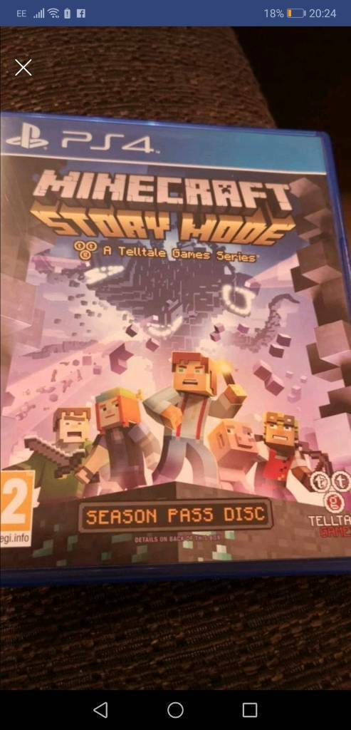 Minecraft story mode ps4 | in Greenock, Inverclyde | Gumtree