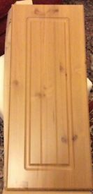 B&Q Pine Kitchen Cabinet Doors and End Panel - (Now Discontinued by B&Q)