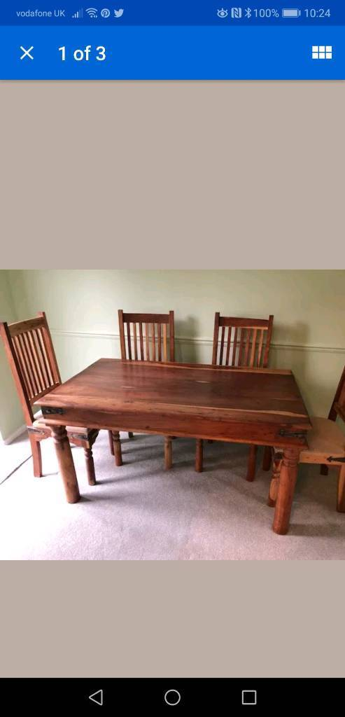 Sensational Mexican Pine Effect Table Chairs Tv Cabinet And Coffee Table Ocoug Best Dining Table And Chair Ideas Images Ocougorg