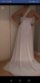 Stunning white wedding dress brand new size 8-10
