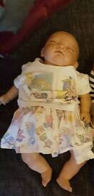 "17"" Lifelike reborn doll from smoke free home - well looked after only £40 for quick sale.t"