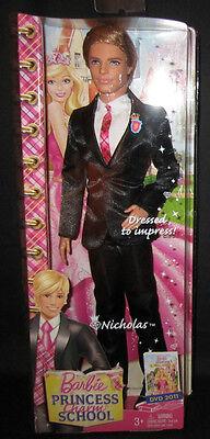 Barbie Princess Charm School Nicholas Ken Doll NEW