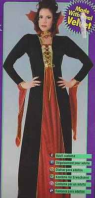 Renaissance Vampirin Erwachsene Damen Kostüm Vampir Steampunk Gothic Neu