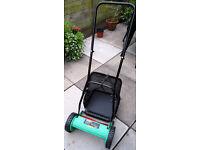 Powerbase hand push lawn mower