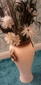 Large vase n flowers