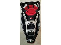 Adams Golf Cart Bag with seperate putter holder & cooler pocket