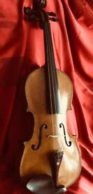 Antique / Vintage 4/4 Violin. All ready to play.