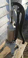 ANTIQUE CISTERN PUMP