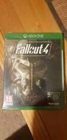 Fall out 4 Xbox one game new unopened