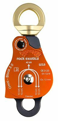 Omni-block 2.0 Swivel Pulley Loss Proof All Colors Versions By Rock Exotica