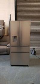 HISENSE PureFlat RF540N4WI1 Fridge Freezer Stainless Steel