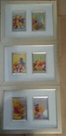Framed Disney pictures set of 3