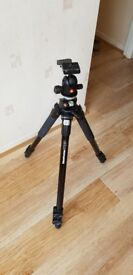 Selling Manfrotto 496RC2 COMPACT BALL HEAD with tripod