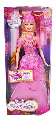 Barbie and The Three Musketeers Corinne Doll 2008 P7841 (Barbie And The Three Musketeers Corinne Doll)