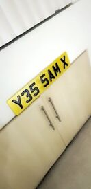 Private Cherished Registration Number Plate for sell. Sam Sammy. YES SAM - Y35 5AM X