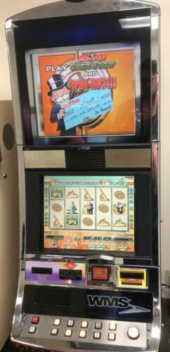 "Williams Bluebird Slot Machine ""Monopoly Cash Flow"""