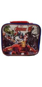 Marvel Avengers 8 Inch Kids Lunch Bag - Multicolor Lunch Bag for Boys