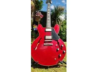 Gibson Custom Shop ES-335 1961 Cherry Red Figured Top VOS - Clapton Upgrades