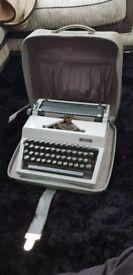 Erika Typewriter - Vintage - Working