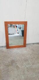 Solid Wood Framed Mirror No150923
