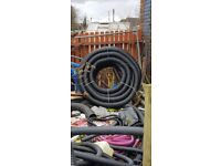 Roll of drainage pipe 4 inch