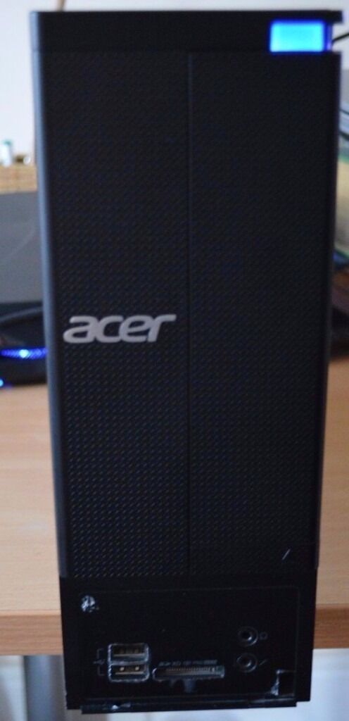 ACER 4GB 500GB DVD Fast Windows 7 Pro 64 bit Desktop PC Computer Base Unitin Small Heath, West MidlandsGumtree - ACER desktop With 4GB, 500gb Installed with Windows 7 Item Description This is a brilliant ACER desktop. It is a desktop computer, with a black top. It comes fully installed with Windows 7 amd 4GB RAM 500GB SATA Hard Drive Windows 7 Wireless...