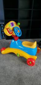 Vtech 2 in 1 ride on and rocker