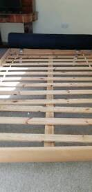 Double bed frame, Reading