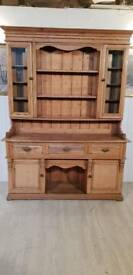 Antique Pine Welsh Dresser