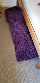 Rug in purple