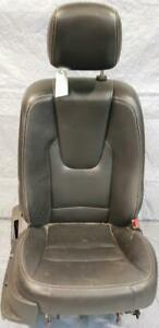 SEAT FRONT Right/Passenger - electric & heated + HEADREST - BLACK LEATHER-complete for 2010-2012 FORD FUSION SEDAN $250