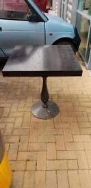 Black wood table top