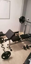 Full home gym set up