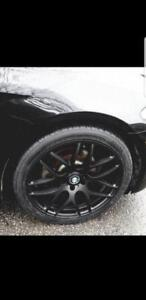 "winter kit BMW 20"" style wheels and tires x3, x4, 5 series, 6 series like new"