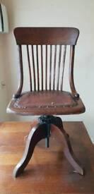 Beautiful old Swivel chair