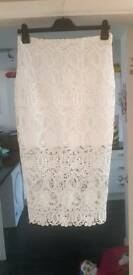 River Island lace Skirt new with tags size 10 half rrp of £40