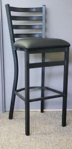 Restaurant Quality Black Bar Stool on Sale - Commercial/Contract Grade