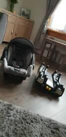 Recaro Baby Seat and Isofix Base