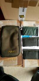 Fox fishing lead weight bag with dividers